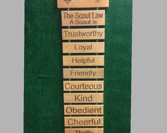 Scout Law / Scout Oath plaques
