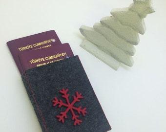 Passport Felt Cover
