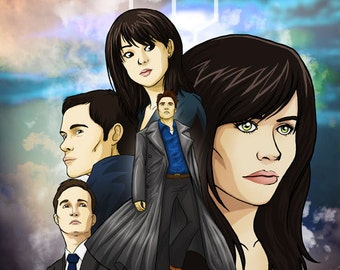Torchwood fan art original illustration print