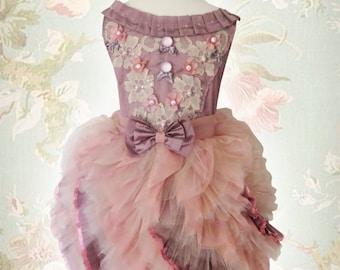 Girls Pink Tutu Dress, Girls Purple Lace Dress, Girls Tutu Dress, Girls Ruffle Dress, Flower Girl Dress, Toddler Outfit, Pupolino.