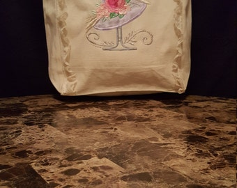 Victorian Hat Gift/Tote Bag
