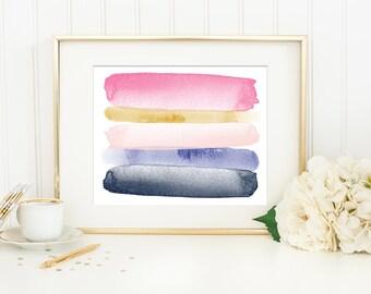 Modern Art Abstract, Modern Abstract Art Printable Art Print, Modern Nursery Art, Modern Minimalist Art, Modern Home Office Decor, 8x10, #7B
