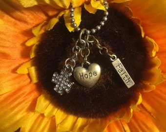 Hope & Faith necklace
