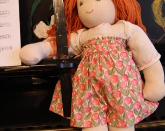 Kirsty, Waldorf inspired doll