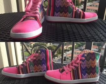 Awasqa high top shoes