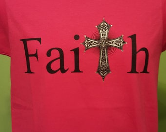 Faith Women's Christian T Shirt