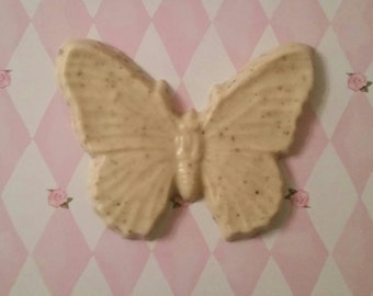 Vanilla Bean Butterfly Soap