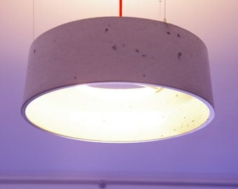 Concrete design lamp