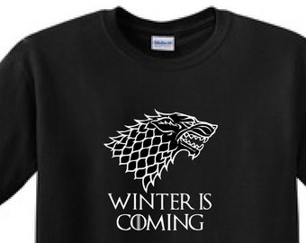 WINTER Is COMING -Game Of Thrones t-shirt