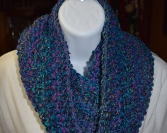 Hand Knit Infinity Cowl