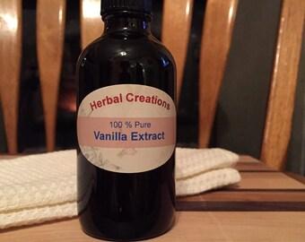 100% Pure Vanilla Extract Homemade