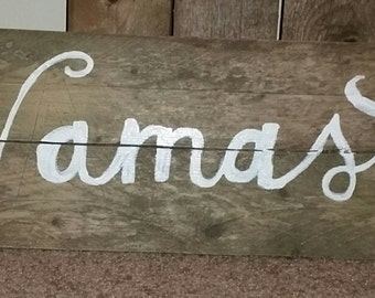 Namaste Reclaimed Wooden Sign