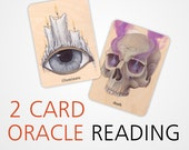 2 Card One Question Oracle Reading | The Earthbound Oracle | Divination | 2 Card Reading | 2 cards One Question | Quick | Guidance | Custom