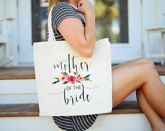 Tote Bag for Mother of the Bride, Tote Bag for Mother of the Groom, Personalized Mother of the Bride Bag, Stepmother of the Bride tote
