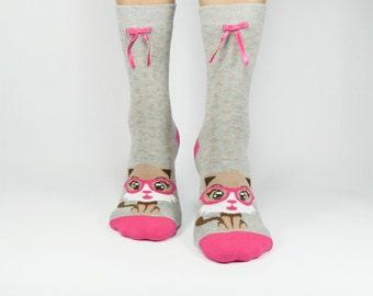 Cat Socks, Animal Cat Socks, Funny Socks, Women Socks, Leg Warmers, Cotton Socks, Casual Ankle Socks, Fun Socks, Fashion For Ladies, Socks