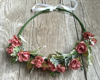 The Sally Rose Pink Crown