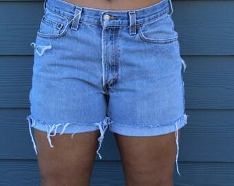 Alex High waisted Shorts