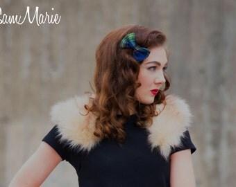 Cute Tartan Hair bows- few options to choose