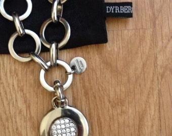 dyrberg/kern designed necklace with swarovski pendant