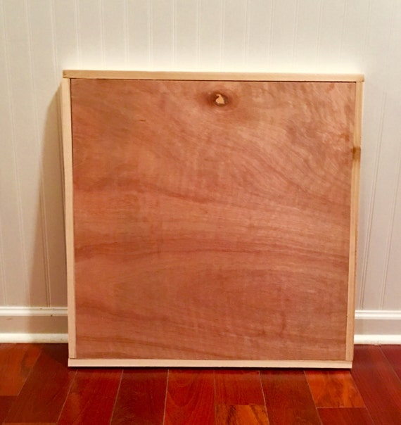 Rustic wood canvas blank with cedar framing diy wood blank for Diy blank canvas
