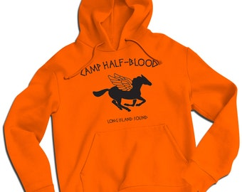 Camp Half Blood Long Island Sound Kids and Unisex Sizes Hoodie Percy Jackson Premium Heavyweight Hoodie Small to 2XL