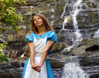 Alice in Wonderland Dress - Alice costume - Alice Disney cosplay - Alice Halloween costume