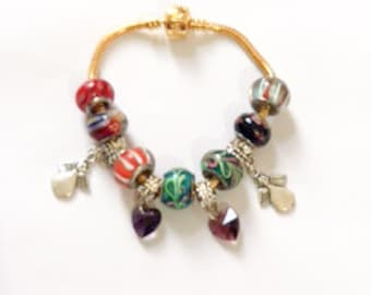 Handcrafted Charm Bracelet (1pc)