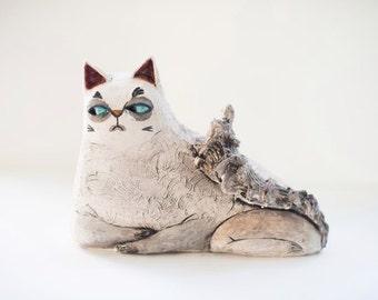 Home Decor - Ceramic Sculpture - Ceramic Art - Ceramic Statues - Clay Art - Sculpting Clay - Clay Sculptures - Ceramic Pottery - Pottery Art
