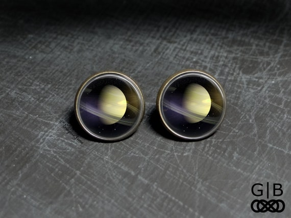 planet saturn earring - photo #33