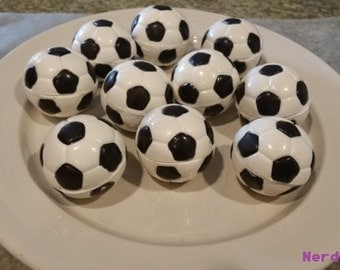Solid Chocolate Soccer Balls