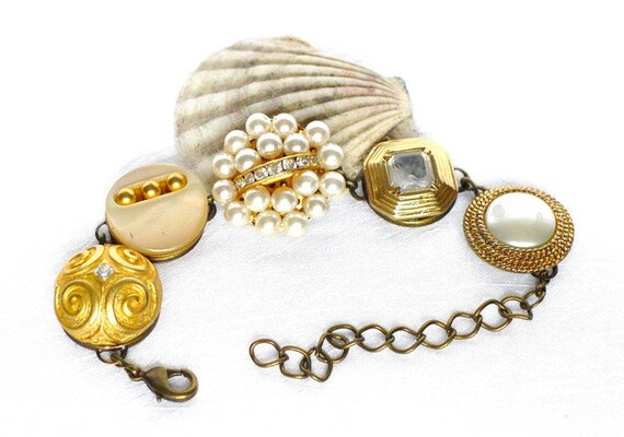 boho statement armband perlen armband gypsy von jewelsbylonasart. Black Bedroom Furniture Sets. Home Design Ideas