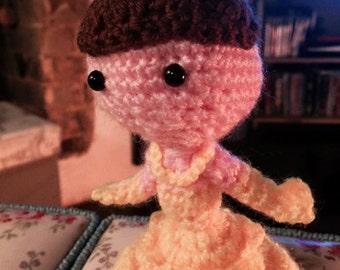 Custom Crochet Princess Belle