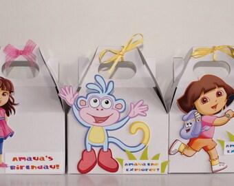 Dora The Explorer Favor Boxes