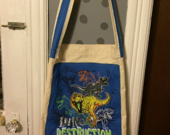 Dino Rage Messenger Bag
