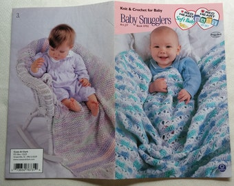 Coats Book 0702 Knit & Crochet for Baby Baby Snugglers