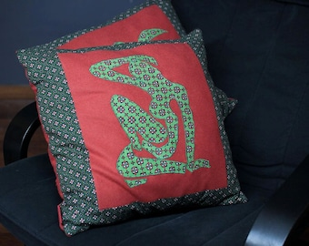 Cushions Henri Matisse revisited by the Cousardes duo