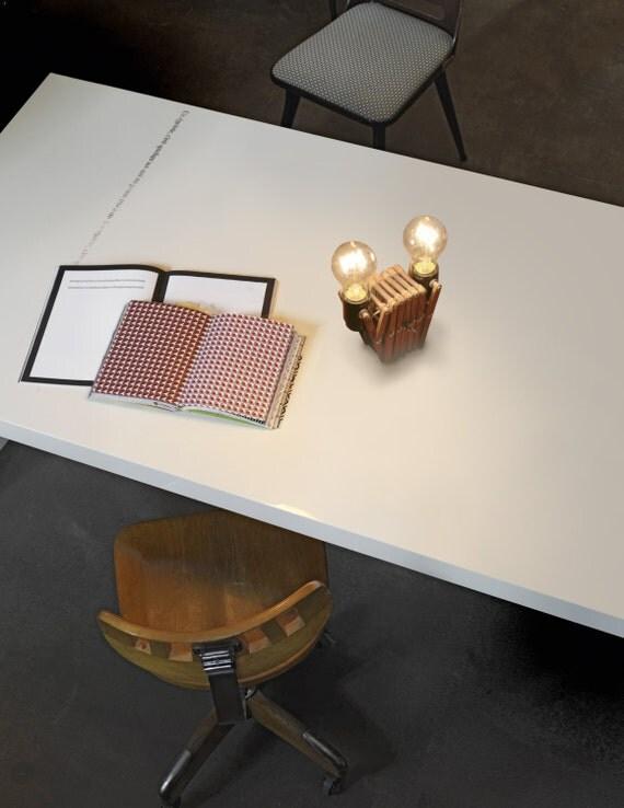 adjustable table desk lamp wooden light lighting by kineticlamps. Black Bedroom Furniture Sets. Home Design Ideas