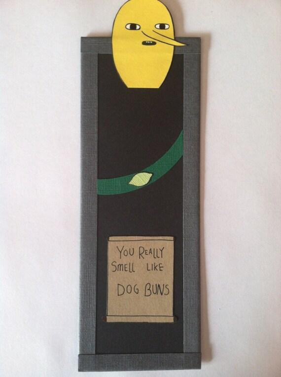 Lemongrab Bookmark