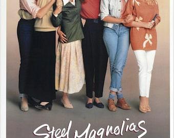 Shirley Maclaine Julia Roberts Steel Magnolias Classic Movie Poster 24x36