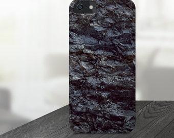 Black Marble iPhone 6 Case, iPhone 6s Case, iPhone 6s plus case, black iPhone case, iPhone 5S case, iPhone 6 case Galaxy S6 Case Black Stone