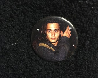 Johnny Depp Button/Pin