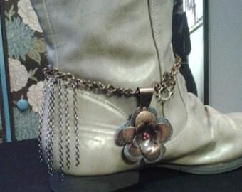 Unique Boot Bracelet