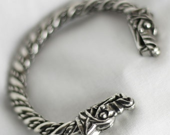 Large Viking Norse Wolf Bracelet ABLET006