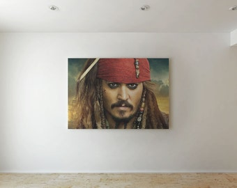 Captain Jack Sparrow - Canvas decor