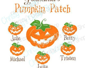 Pumpkin Halloween svg file / halloween cut file / halloween svg / pumpkin patch svg / grandma svg / grandkids svg / vinyl crafts / clip art