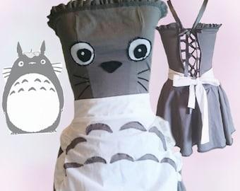 Totoro inspired lolita cosplay dress