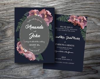 Customized Printable Wedding Invitation