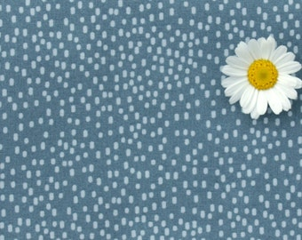 Tilda fabric FQ / Painting Flowers / Limited Edition / Painted Dots Blue / Fat quarter