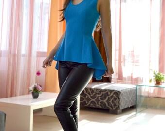Feminine sleeveless top