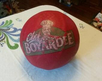 1960s Vintage CHEF BOYARDEE Promotional Kickball, Kick Ball